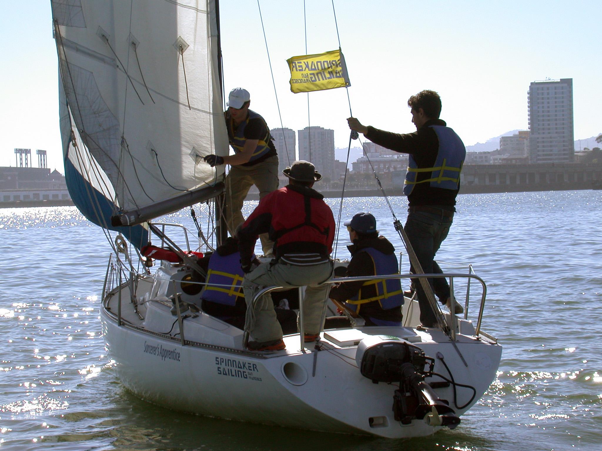 cork sailing learn how to sail