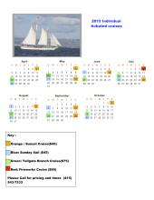 2015 Ticketed Cruise Schedule