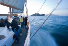 Sailing Towards Alcatraz