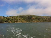 Angel Island as seen from Bay Lady