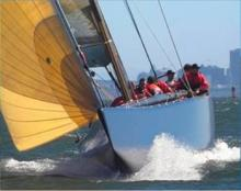 USA 76 is a PURE Thoroughbred Racing Yacht