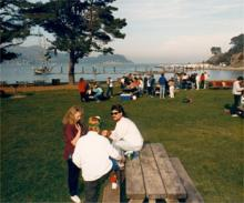 Angel Island's beautiful picnic grounds